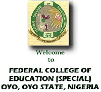 FCE Oyo (Special) NCE Admission List 2016/2017 Released