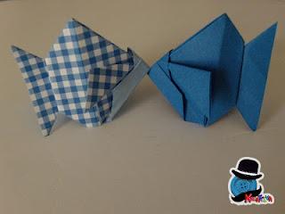 pesciolini origami