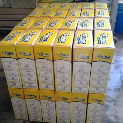 Stok Karima Milk Susu Kedelai Pelancar ASI Terbaik Paling Ampuh, Manjur, Mujarab