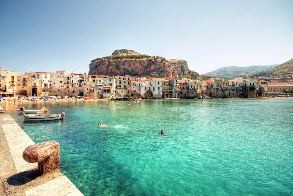 Cefalu Italy Beautiful Coastal Village