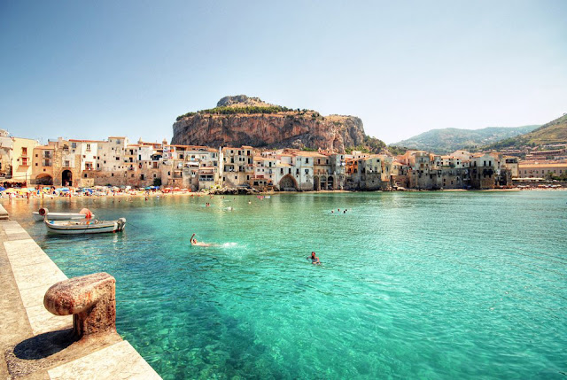 Cefalu Italy Beautiful Coastal Village