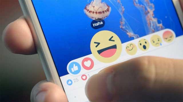أخيراً فيسبوك يبدأ بتوفير خيارات الحزن والغضب والضحك بجانب الإعجاب