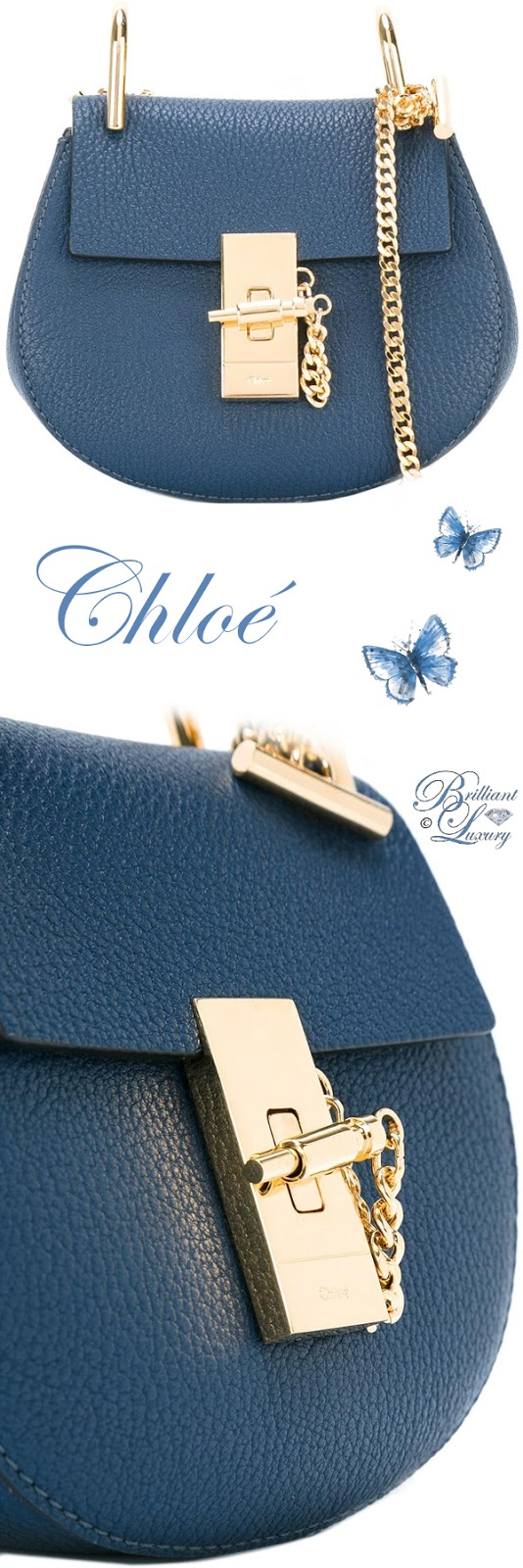 Brilliant Luxury ♦ Chloé Nano Drew Crossbody Bag
