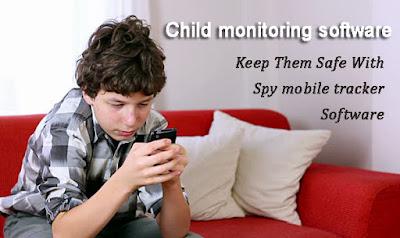 Child monitoring software