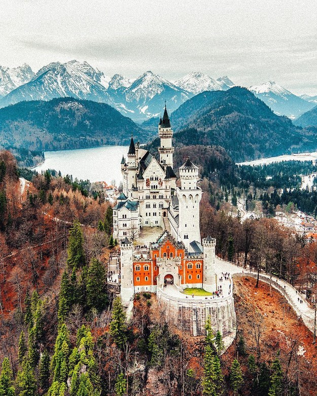 17 Real Places That Are Probably Portals To The Wizarding World - Neuschwanstein Castle in Neuschwanstein, Germany