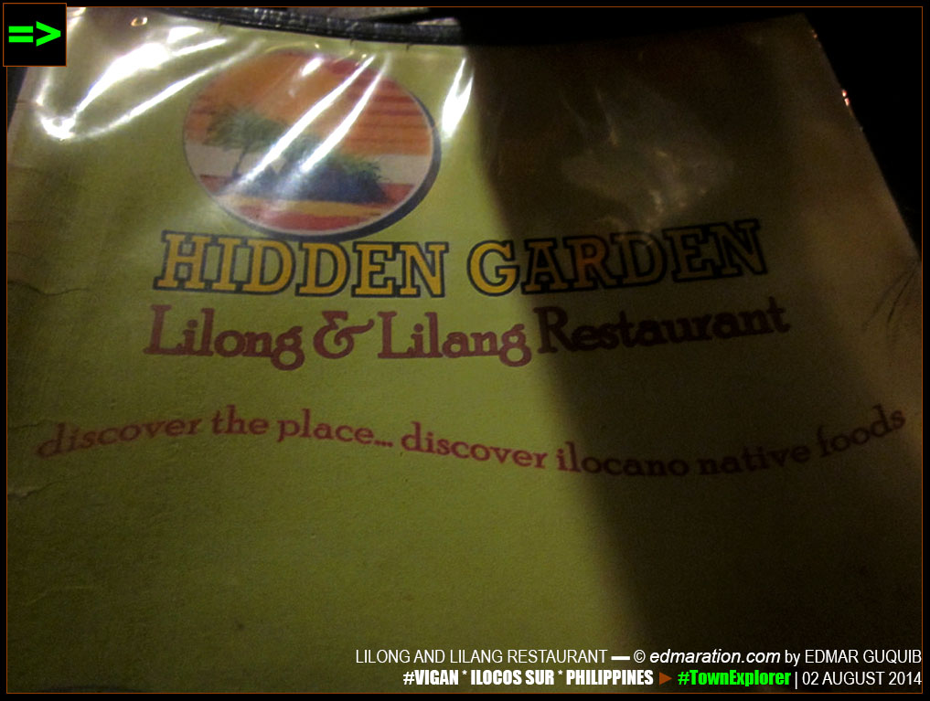 LILONG AND LILANG RESTAURANT
