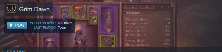 Grim Dawn Items
