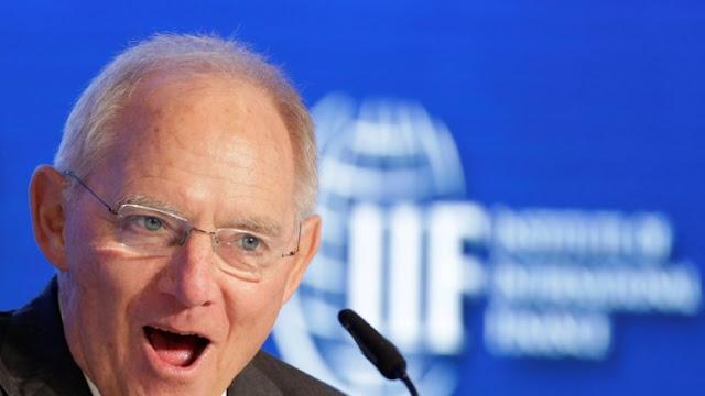 """Κι αν μας πεθάνει ο Σόιμπλε; Ο Γερμανός είναι """"μία κάποια λύση"""" για τους Έλληνες πολιτικούς"""