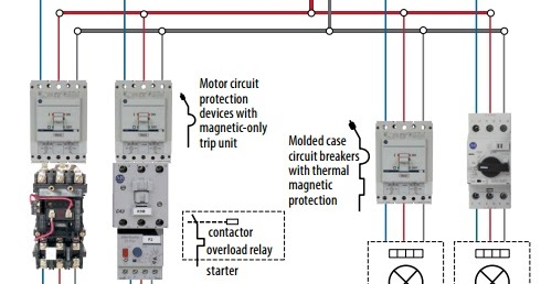 Hyderabad Institute of Electrical Engineers: motor protection circuit breaker schematic diagram