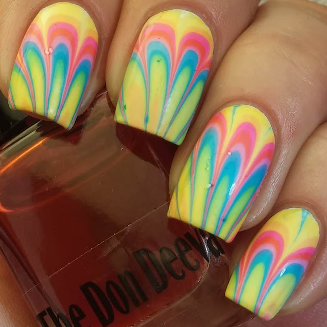 Rainbow nail designs!