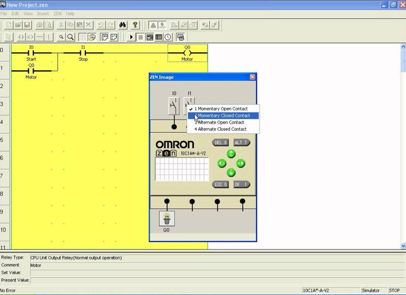 omron zen software