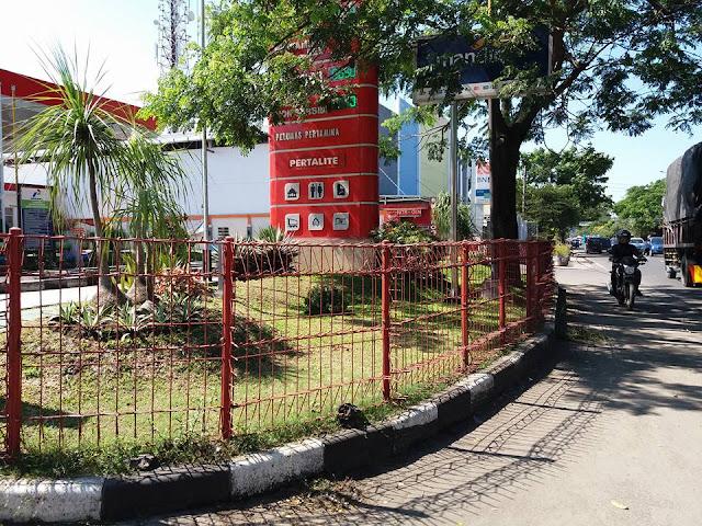 Gunakan Pagar Berduri, SPBU di Kota Malang ini Jadi Bahan Cemoohan Warga
