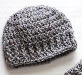 Parker Newborn Crochet Hat