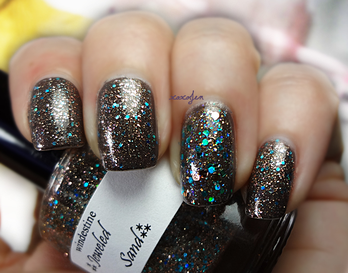 xoxoJen's swatch of Windestine Jeweled Sand