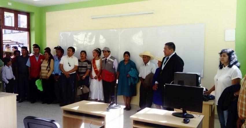 PRONIED: Inauguran un nuevo servicio educativo para los niños del centro poblado de Lanchez en Cajamarca - www.pronied.gob.pe