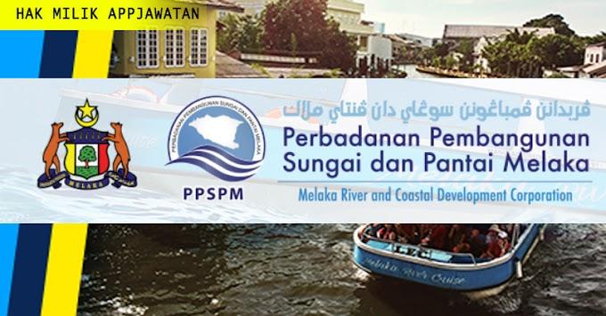 Jawatan Kosong di Perbadanan Pembangunan Sungai Dan Pantai Melaka (PPSPM) Tahun 2019