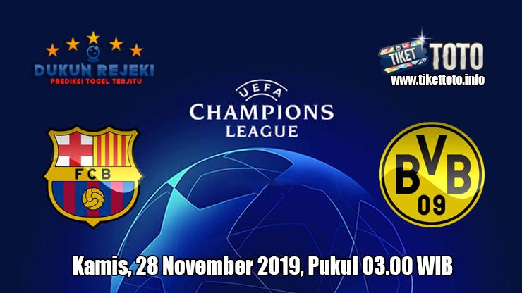Prediksi Champions League Barcelona VS Borussia Dortmund 28 November 2019