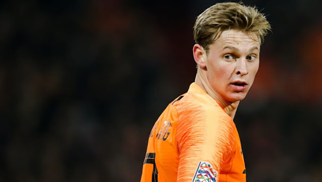AS annonce la signature imminente de Frenkie de Jong au PSG