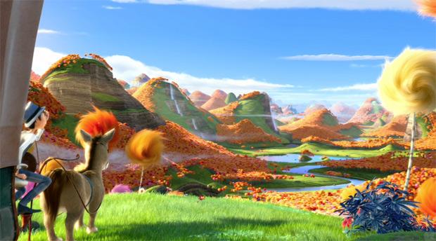 รีวิว คุณปู่โรแลกซ์ มหัศจรรย์ป่าสีรุ้ง Dr.Seuss' The Lorax  2012