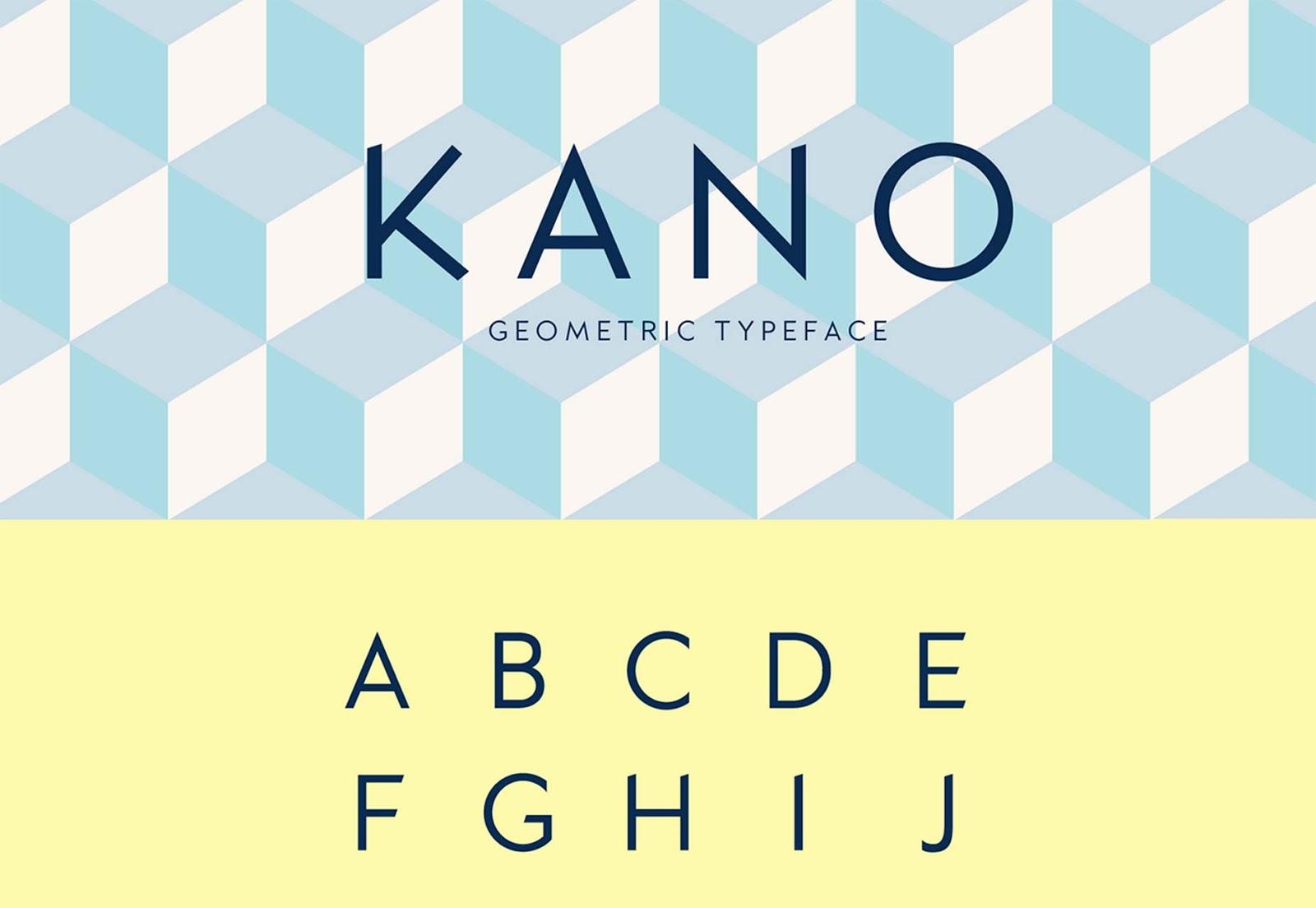 Font Edisi September - KANO Typeface Free