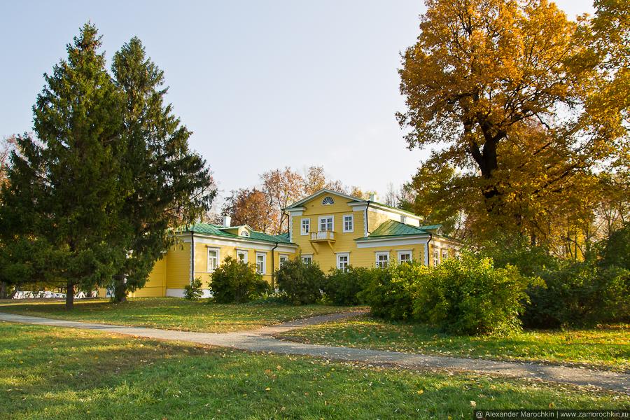 Усадьба Пушкиных (музей-заповедник А.С. Пушкина) в Большом Болдине