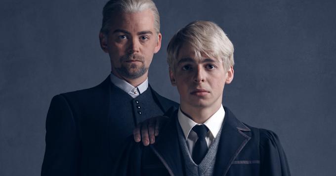Retratos Finais de Cursed Child mostram Draco e Scorpius Malfoy