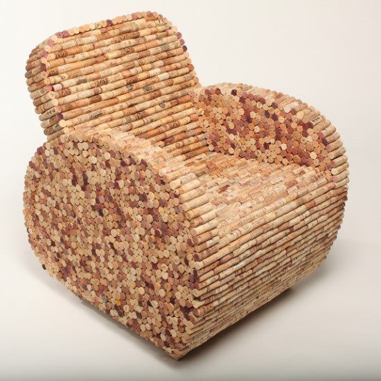 Recycled Wine Cork - Recycling Center