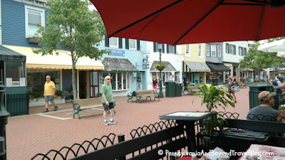 Washington Street Mall in Cape May New Jersey
