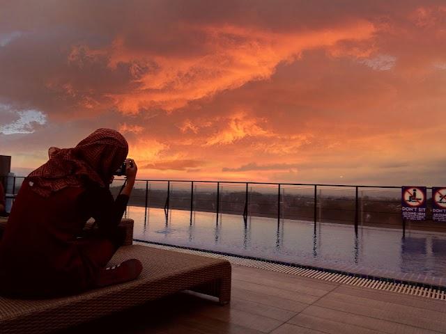 Kedamaian, di Satoria Hotel