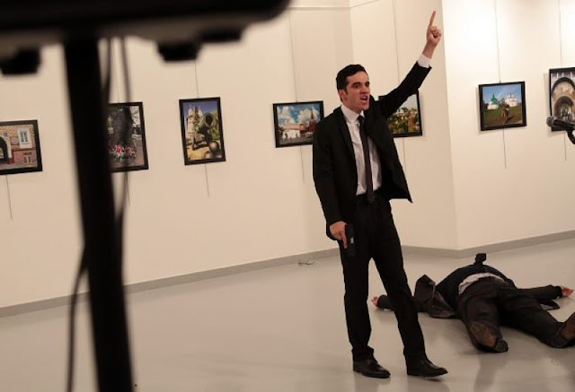 NEWS | Russian Ambassador to Turkey Andrey Karlov Assassinated on Live TV