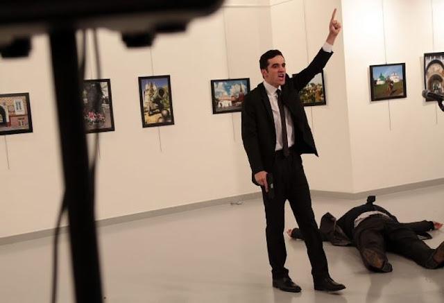 NEWS | Russian Ambassador to Turkey Andrey Karlov Assassinated on Live TV