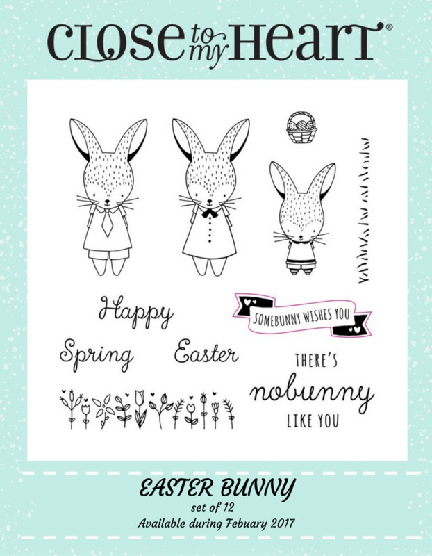 "Paper HeARTIST: February's SOTM Blog Hop...""Easter Bunny"""