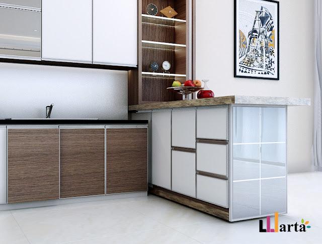 Kitchen Set Pantry Lippo Village Karawaci