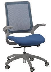 Blue and Gray Office Chair