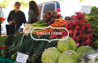 Urban farmers market at The Cannery, a mixed-use community with 583 residences in Davis, on the outskirts of Sacramento near San Francisco
