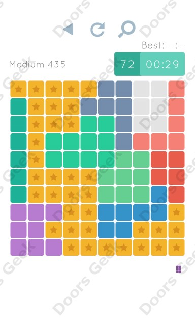 Cheats, Walkthrough for Blocks and Shapes Medium Level 435