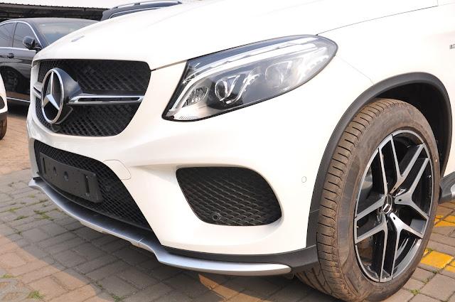 Mercedes AMG GLE 43 4MATIC Coupe có lưới tản nhiệt 1 nan màu Đen