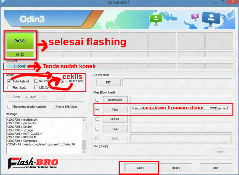 Cara Flashing Samsung Galaxy Ace 3 GT S7270
