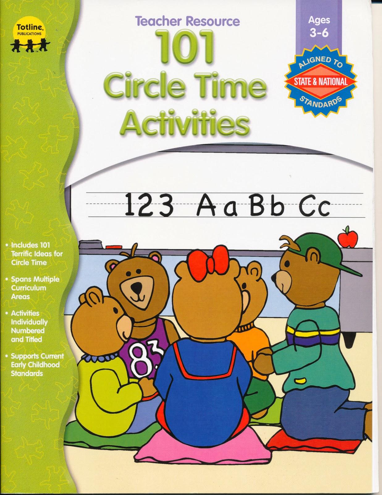 Edu House 101 Circle Time Activities