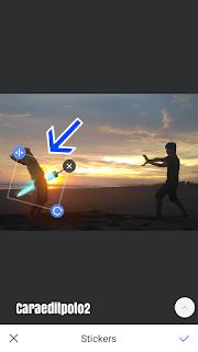 Edit foto ditusuk pedang goblin