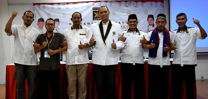 Agung Hajandono Pimpin DPC PKS Pancoran Mas