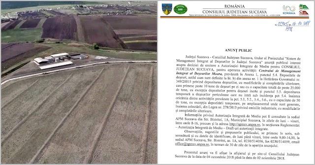 APM Suceava a decis să autorizeze groapa de gunoi de la Moara, în ciuda multiplelor ilegalități semnalate. Documentul poate fi contestat până pe 2 noiembrie