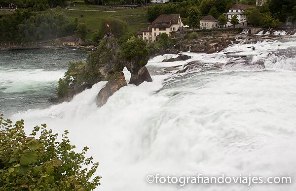cataratas del Rin (Rheinfall) en Suiza