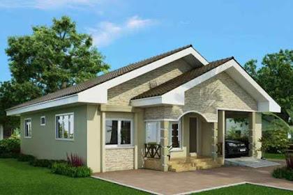 Model Rumah Sederhana Tampak Depan