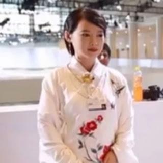 Female humanoid robot Jia jia
