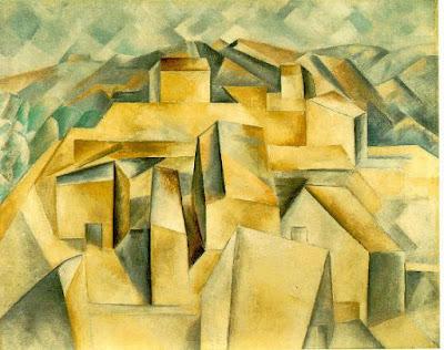 Pablo Picasso - Maisons sur la colline - Horta de Ebro - 1909 - Museum Berggruen Berlin