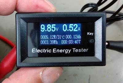 Daniu DC Energy and Power Meter