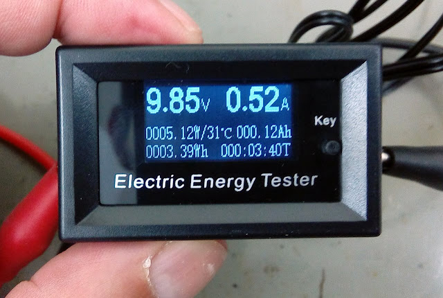 Daniu DC Energy and Power Meter