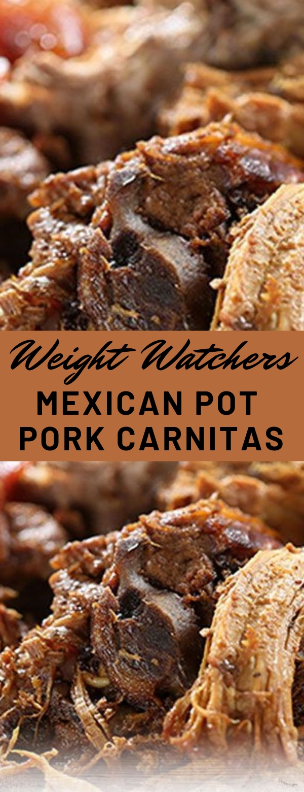Weight Watchers Mexican Pot Pork Carnitas #weightwatchers #potpork #maincourse