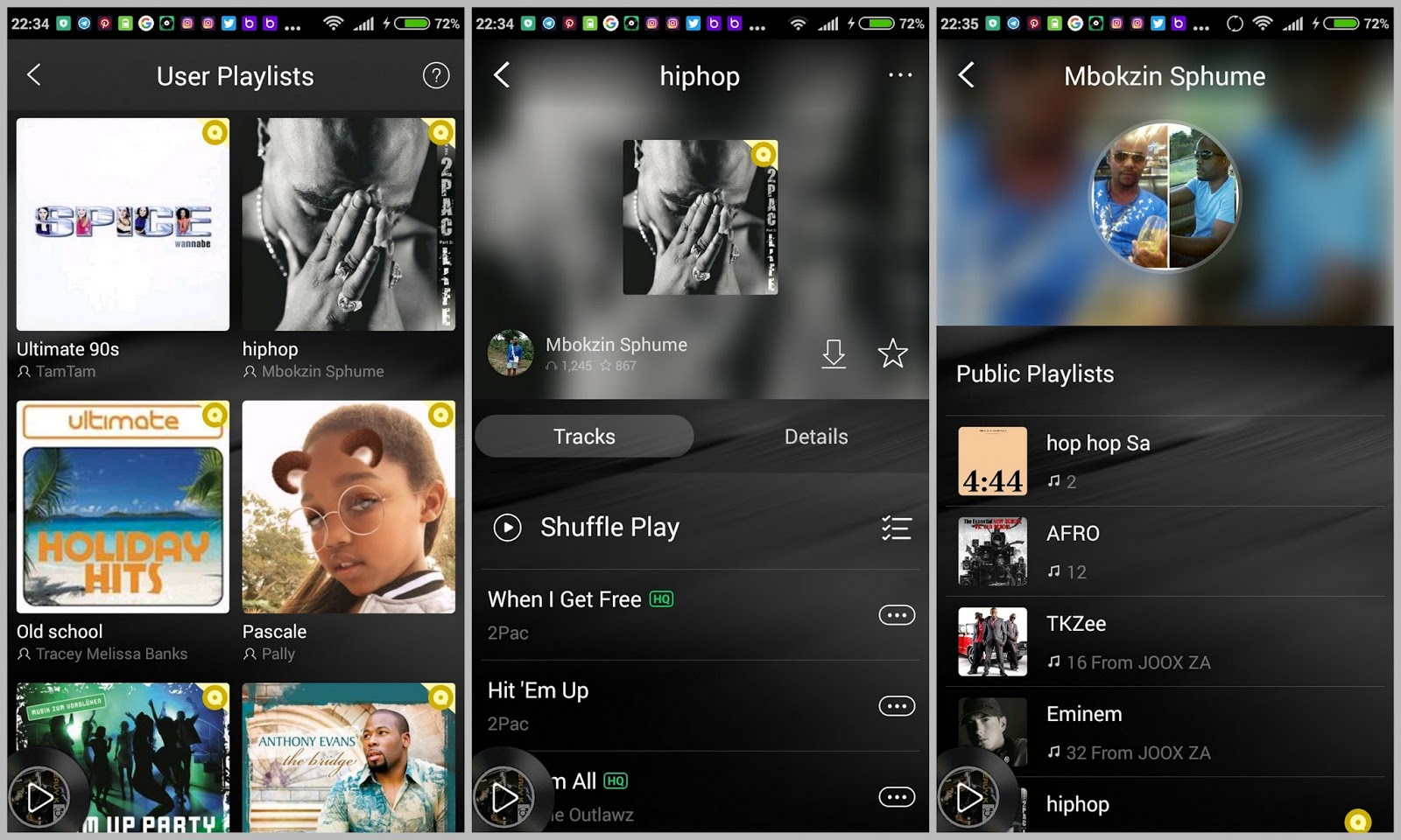 Joox music app mr lunga user playlists is by far the stand out feature well for me that is in the joox app i think this should be standard on any music app i first started stopboris Images